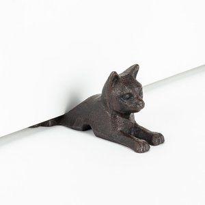 Laying Cat Door Wedge / Under the Door Stopper